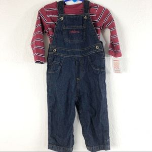 Carters just for you overalls set
